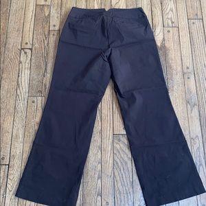 Lane Bryant Brown Dress Pants Dressy Comfortable